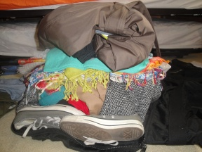 The magical duffel was able to accommodate all of this plus some!