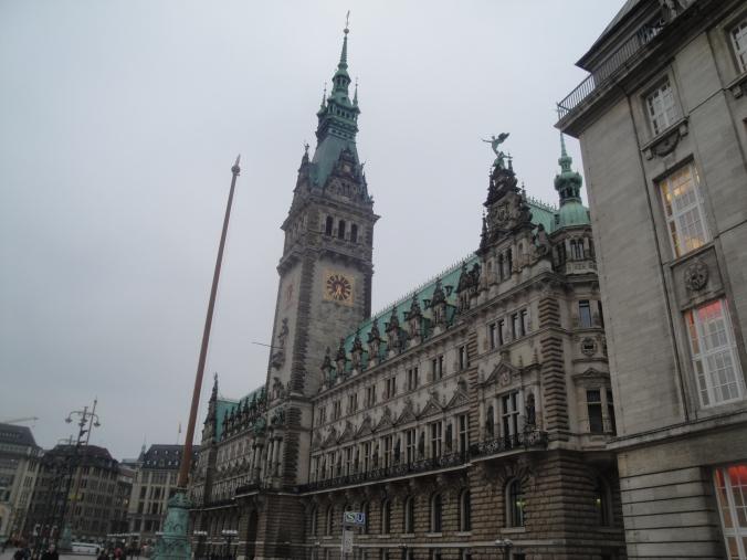 Hamburg's famous Rathaus